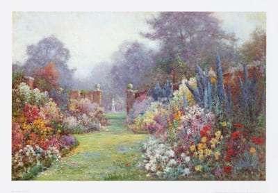 Summer Garden by Alfred Fontville
