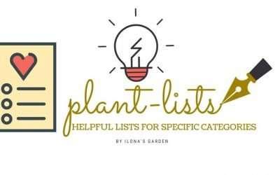 Herb Garden Plantlists