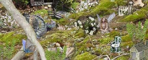 make believe fairy garden