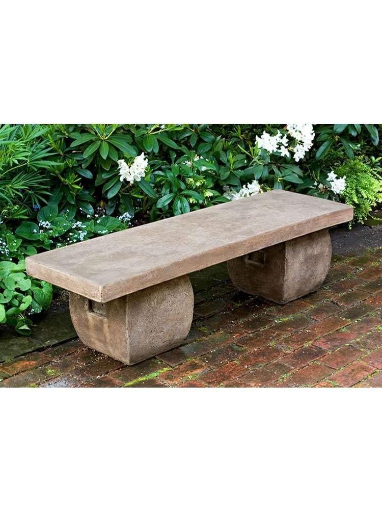 Ryokan Garden Bench