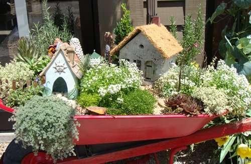back to top - Indoor Fairy Garden
