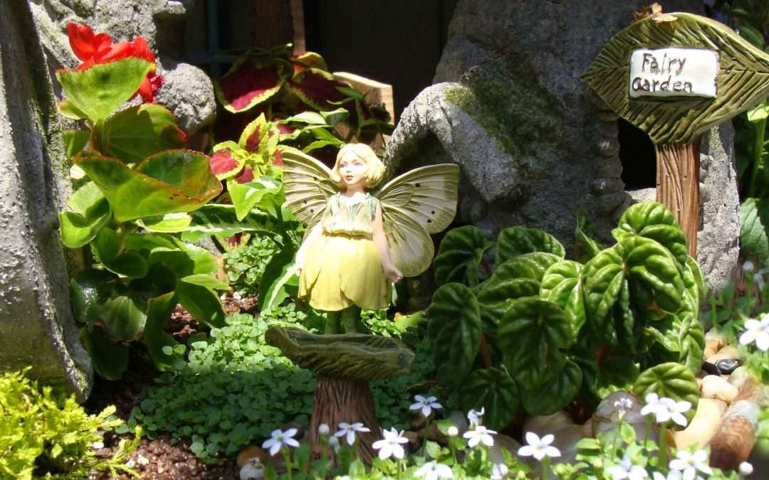 three fairy garden plans - Indoor Fairy Garden