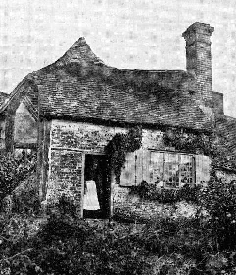 old cottage in Elstead, Surrey