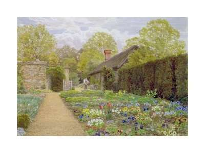 The Pansy Garden, Munstead Wood, Surrey, Home of Gertrude Jekyll