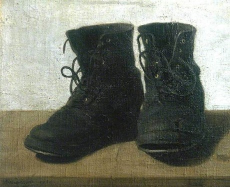 Miss Jekyll's Boots by William Nicholson