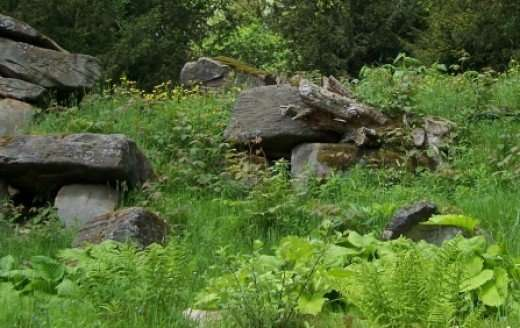 rock outcropping photo by loneangel
