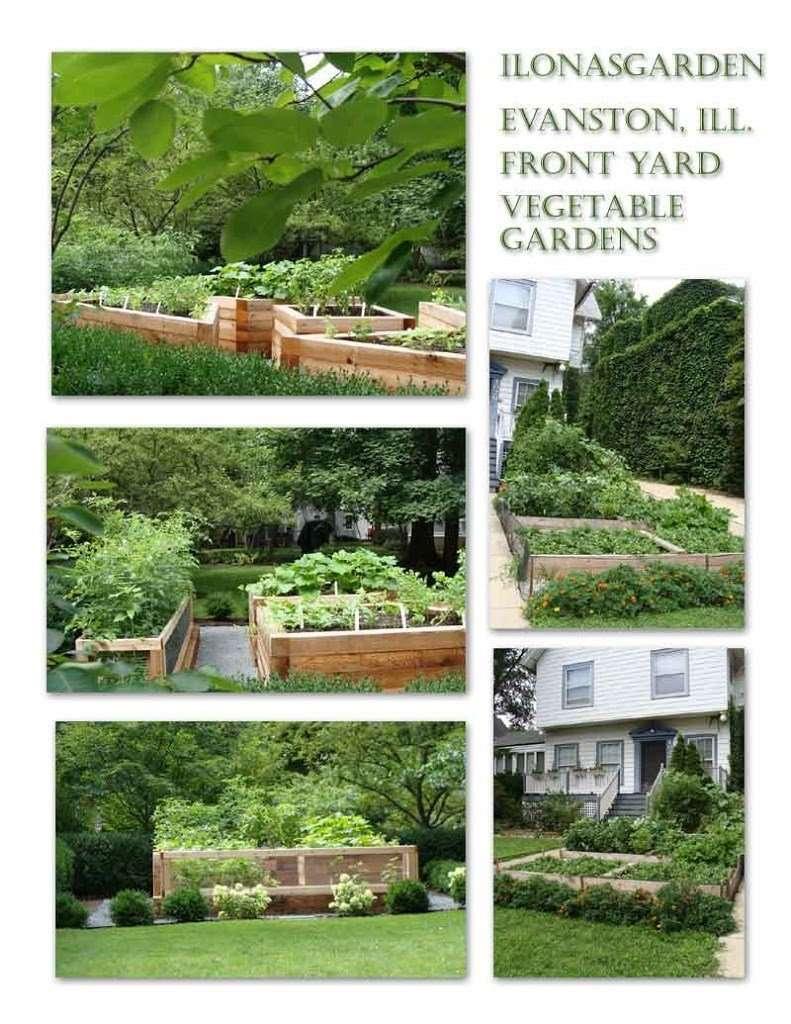 front yard food gardens